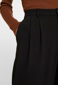 Part Two - VEANNA - Pantalon classique - black - 4