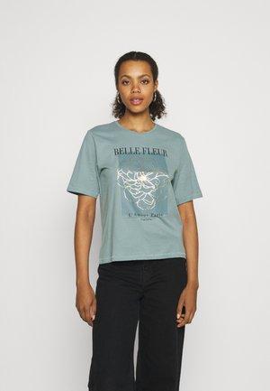 ONLBELINDA LIFE BOXY - Print T-shirt - stormy sea