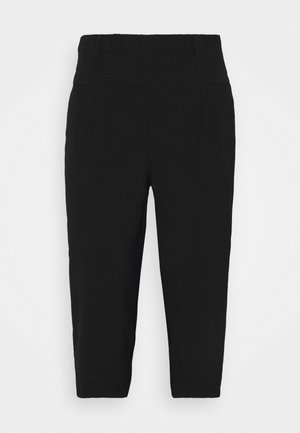 JIA CAPRI PANTS - Shorts - black deep