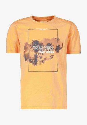 Print T-shirt - turmeric