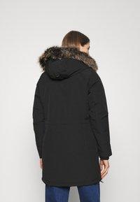 ONLY - ONLNEWSALLY LONG COAT - Vinterkåpe / -frakk - black - 2