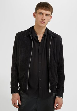 ION - Leren jas - black