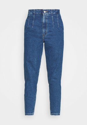 HOLLYWOOD WB HW TAPER - Relaxed fit jeans - blue denim