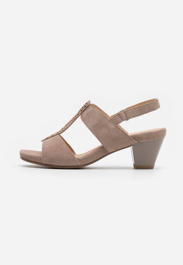 Sandals - stone