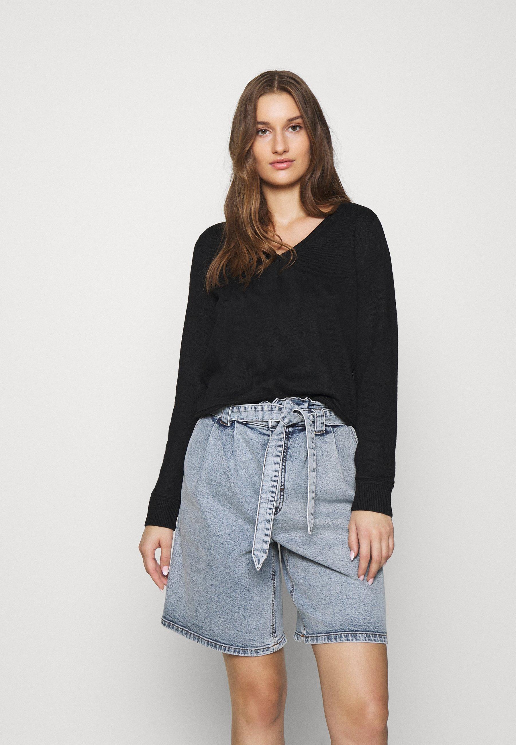 Femme SLFINKA VNECK - Pullover