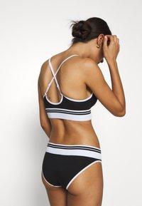 Calvin Klein Underwear - SOCK LIGHTLY LINED DEMI - Top - black - 3