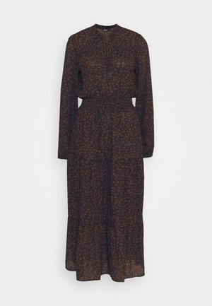 ONLJERRY DRESS - Vardagsklänning - peacoat/toffee