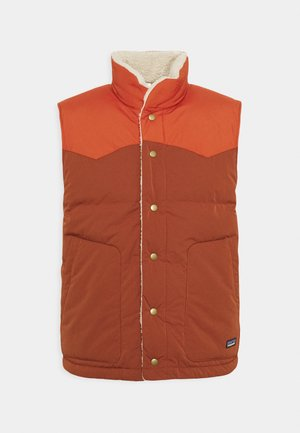 REVERSIBLE BIVY VEST - Vesta - barn red