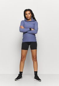 Nike Performance - ONE SHORT - Tights - black/white - 1