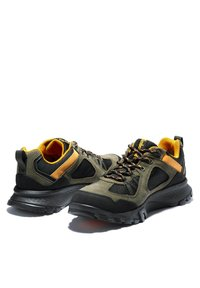 Timberland - GARRISON TRAIL LOW GTX - Casual lace-ups - dark green suede - 4