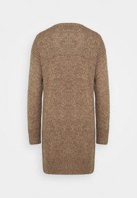 JDY - JDYCORDELIS DRESS  - Jumper dress - taupe gray/melange - 1