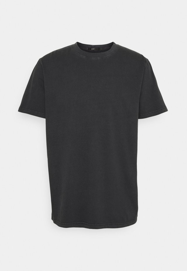 BAND TEE - Jednoduché triko - black