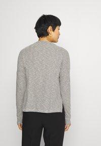 Opus - SIKELE - Long sleeved top - black - 2