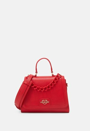 TOP HANDLE HANDBAG - Handbag - rosso