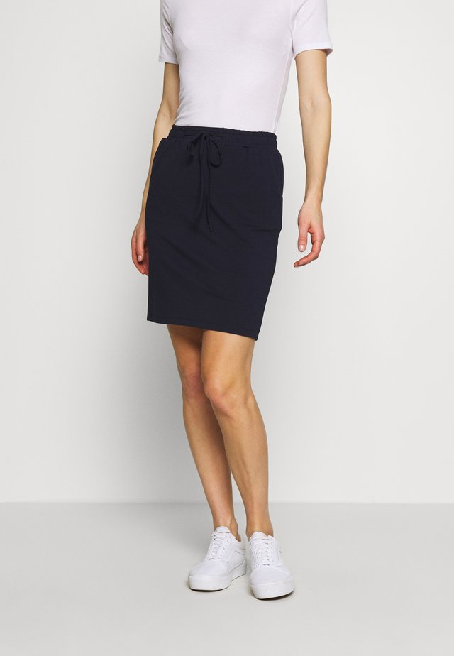 LINDA SKIRT - Pencil skirt - midnight marine