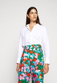 J.CREW - PERFECT IN BAIRD - Button-down blouse - white - 1
