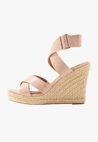 ONLY SHOES - ONLAMELIA WRAP  - High heeled sandals - nude - 1