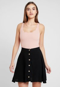 New Look - SCALLOP BODY - Top - nude - 0