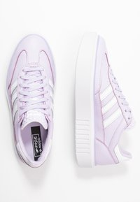 adidas Originals - SLEEK SUPER 72 - Sneakers - purple tint/footwear white/crystal white - 3