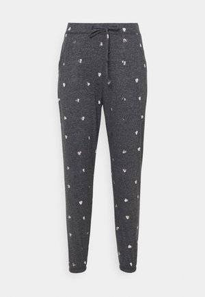PRINTED COZY JOGGER - Pyjama bottoms - grey