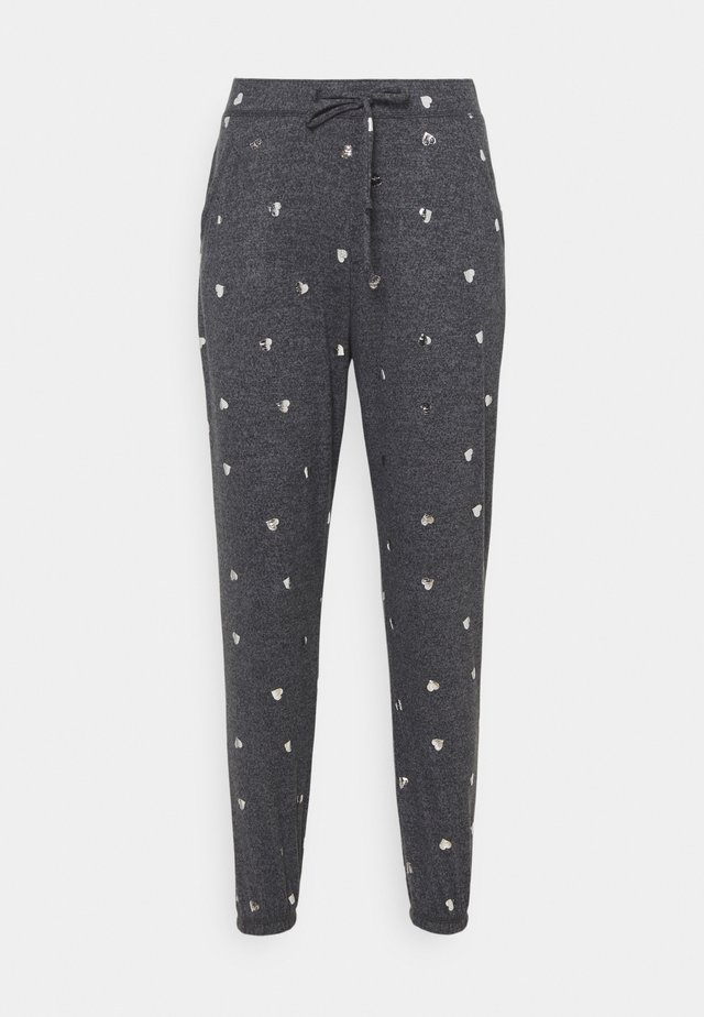 PRINTED COZY JOGGER - Pyjamabroek - grey