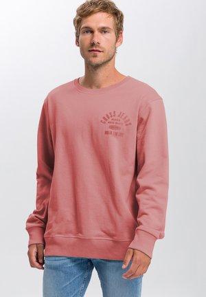 Sweatshirt - ziegelrot