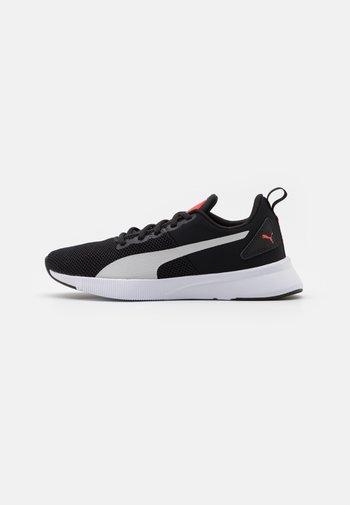 FLYER RUNNER JR UNISEX - Neutral running shoes - black/gray violet