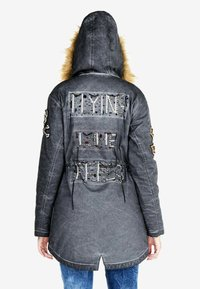 Cipo & Baxx - Winter jacket - anthracite - 2