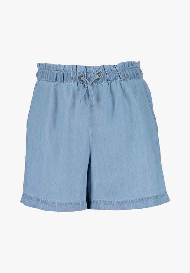 GROW BEYOND ONESELF - Shorts di jeans - hl blau