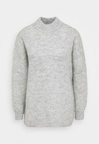 SLFLULU ENICA  - Strikpullover /Striktrøjer - light grey melange