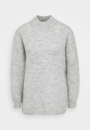SLFLULU ENICA  - Strickpullover - light grey melange