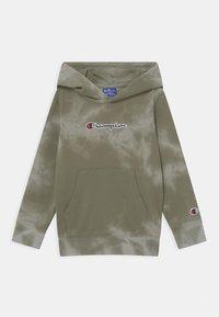 Champion Rochester - COLOR SPLASH HOODED UNISEX - Sweat à capuche zippé - khaki - 0