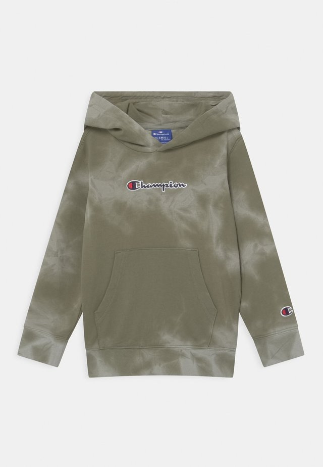 COLOR SPLASH HOODED UNISEX - veste en sweat zippée - khaki