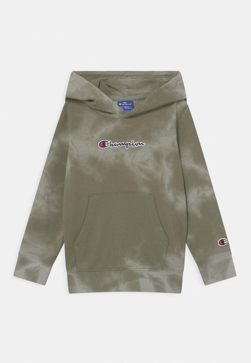 Champion Rochester - COLOR SPLASH HOODED UNISEX - Sweat à capuche zippé - khaki