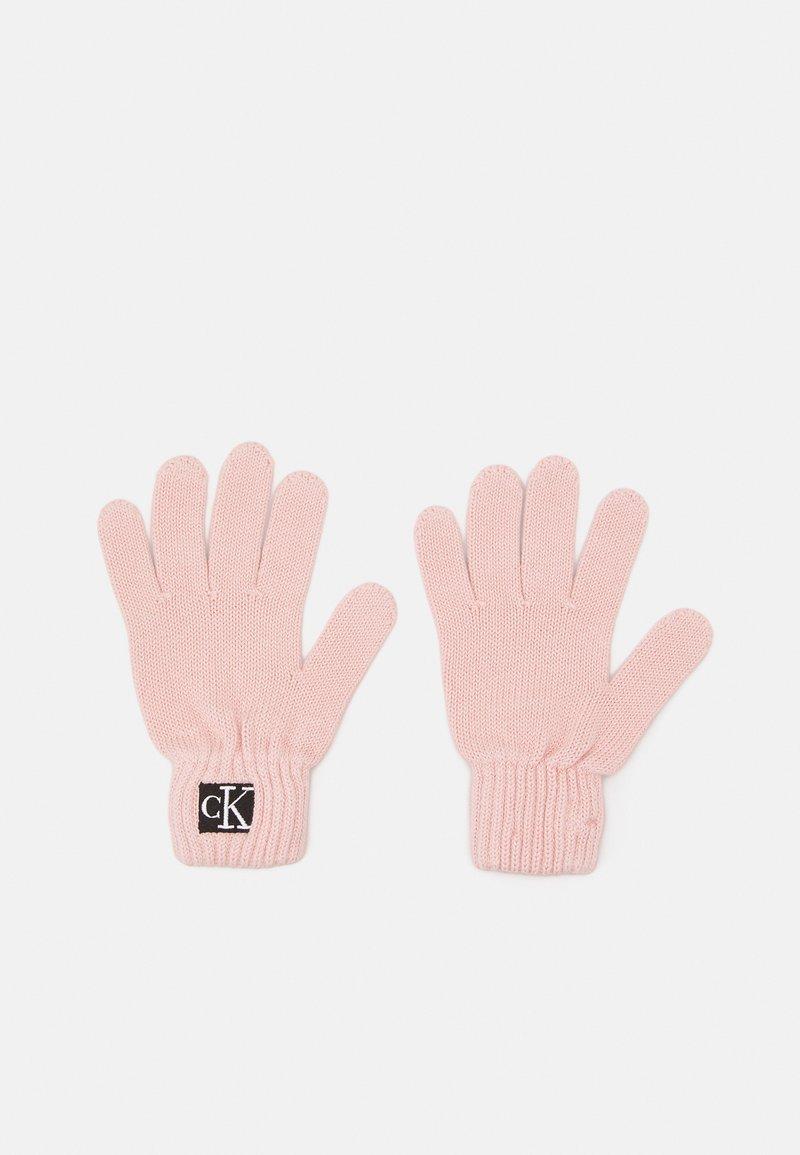 Calvin Klein Jeans - MODERN ESSENTIALS GLOVES UNISEX - Gants - pink