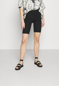 ONLY - ONLLIVE LOVE SOLID CITY 2 PACK - Shorts - orchid bloom/black - 3