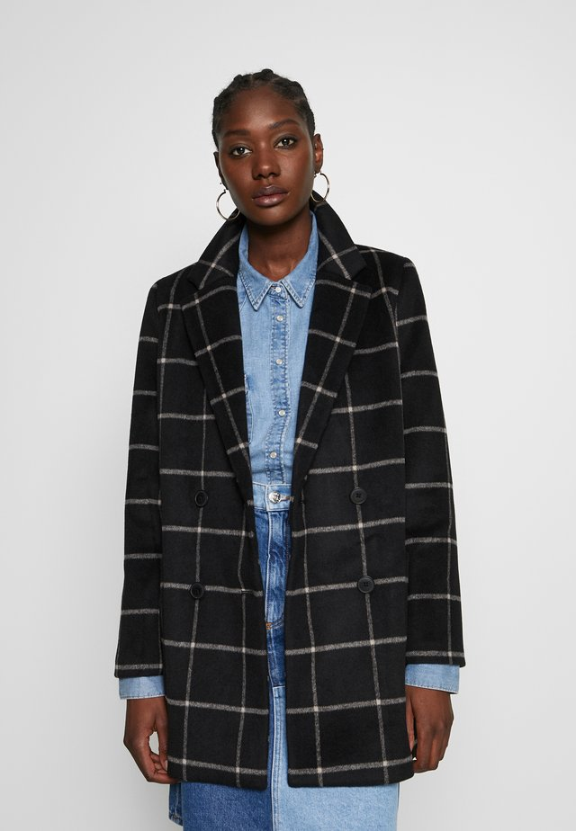 HOLLIS WINDOWPANE COAT - Classic coat - wide window cloud