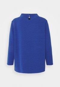 TOM TAILOR - STRUCTURE - Long sleeved top - deep ultramarine blue - 1