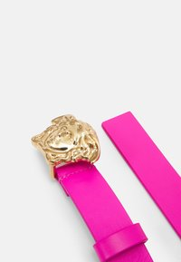 Versace - MISSING ENGLISH LOCALIZZATION UNISEX - Belt - hibiscus/gold - 1