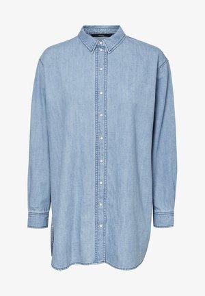 Skjorta - medium blue denim