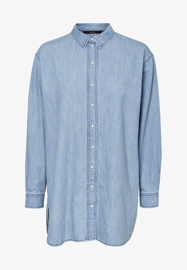 Vero Moda Koszula - medium blue denim/niebieski denim EUJO