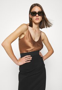 Elisabetta Franchi - Pencil skirt - nero - 3