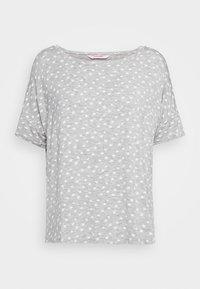 Hunkemöller - LOOSEFIT EYES - Pyjama top - warm grey melee - 3