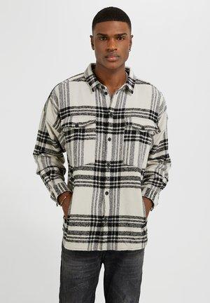 JONTE - Shirt - porcelain/black