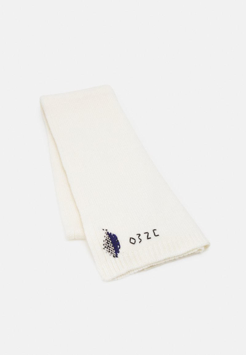 032c - HAND REPAIRED SCARF UNISEX - Šalle - natural white
