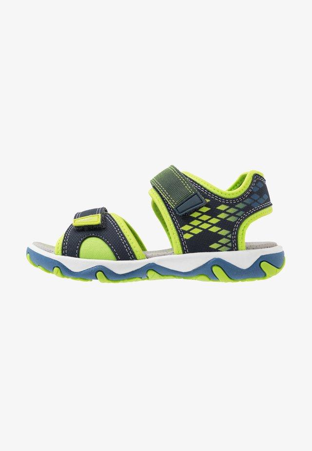 MIKE 3.0 - Walking sandals - blau
