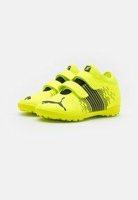Puma - FUTURE Z 4.1 TT V JR UNISEX - Astro turf trainers - yellow alert/black/white - 1