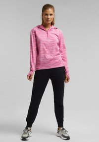 Esprit Sports - MIT E-DRY - Hoodie - pink fuchsia - 1