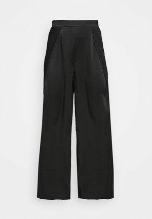 LADIES TROUSERS - Trousers - black