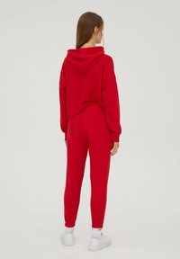 PULL&BEAR - Tracksuit bottoms - red - 2